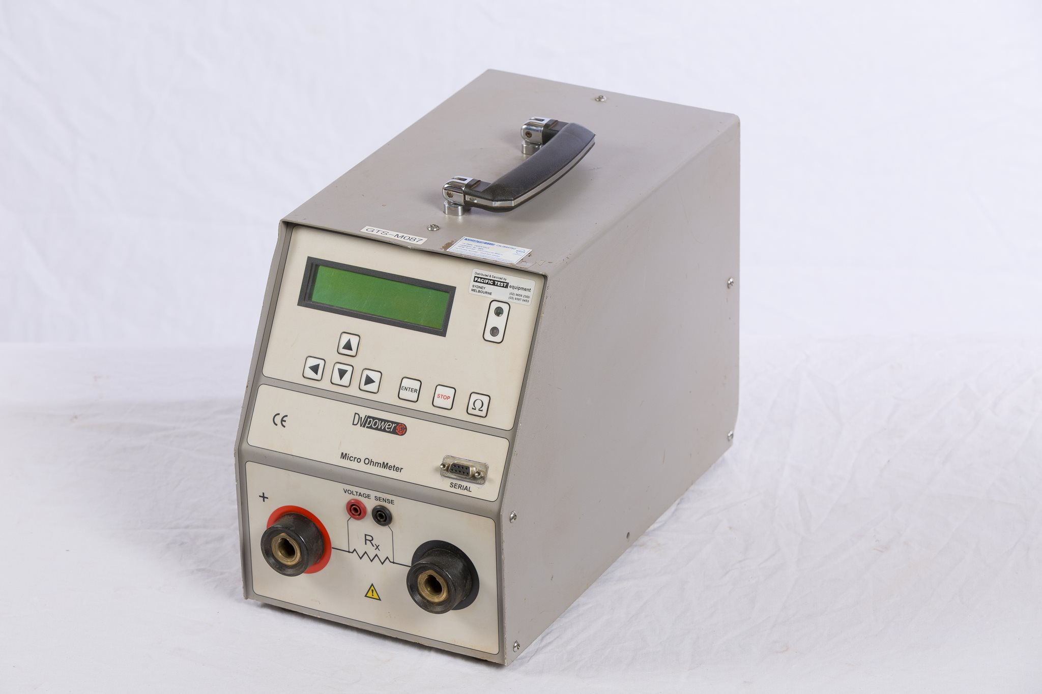 600A Low Contact Resistance Meter - DV Power RMO600