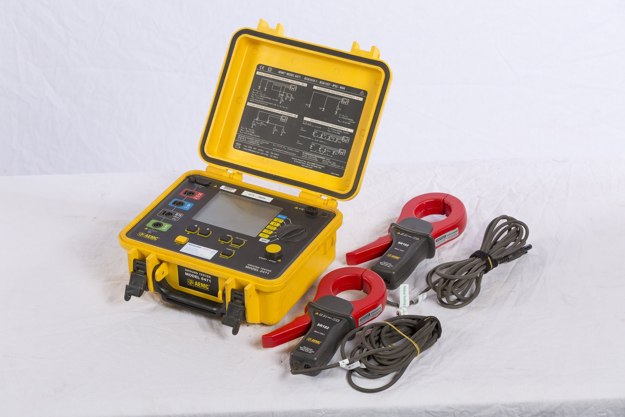 Portable Earth Tester - AEMC 6471