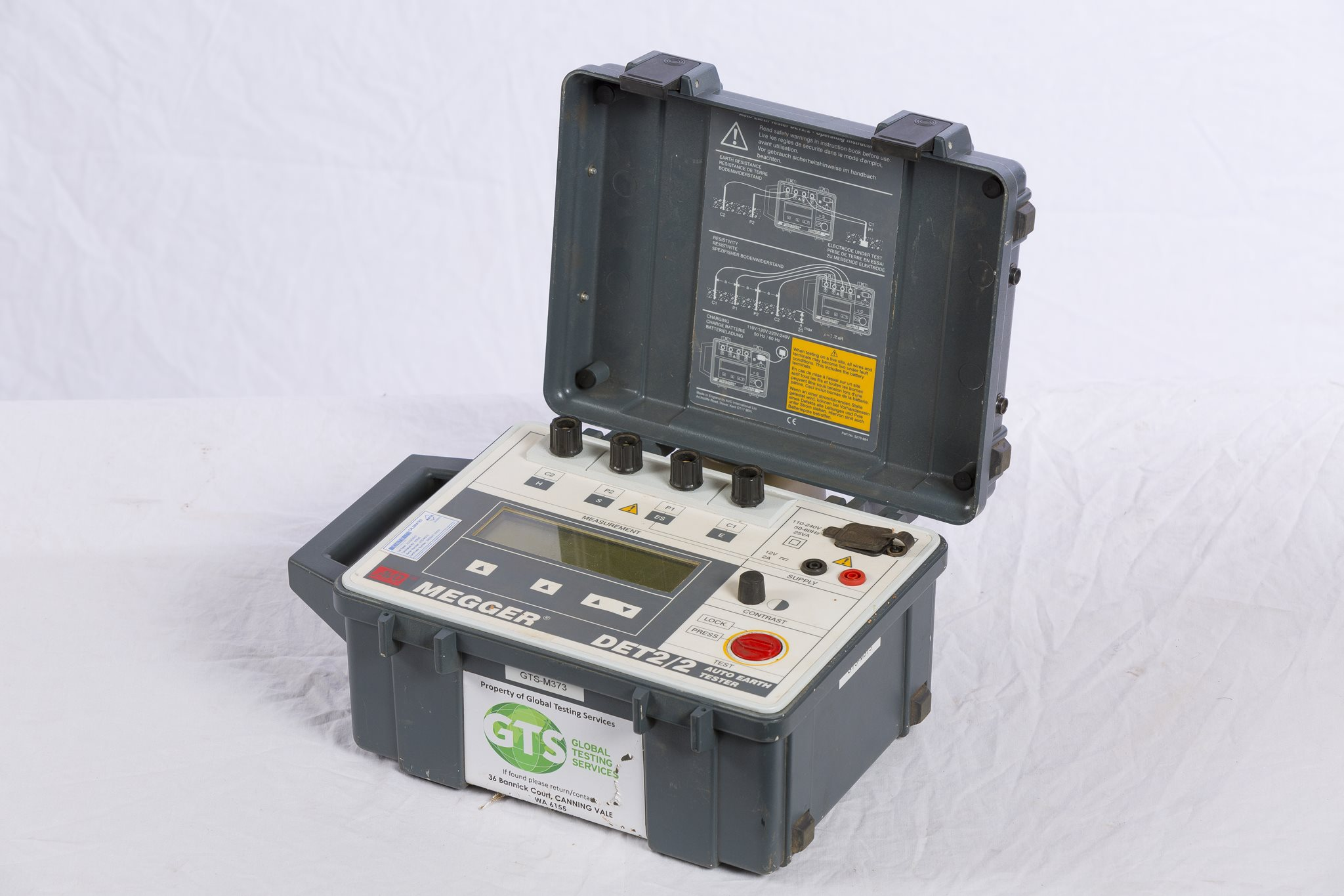 Portable Earth Tester - Megger DET2/2