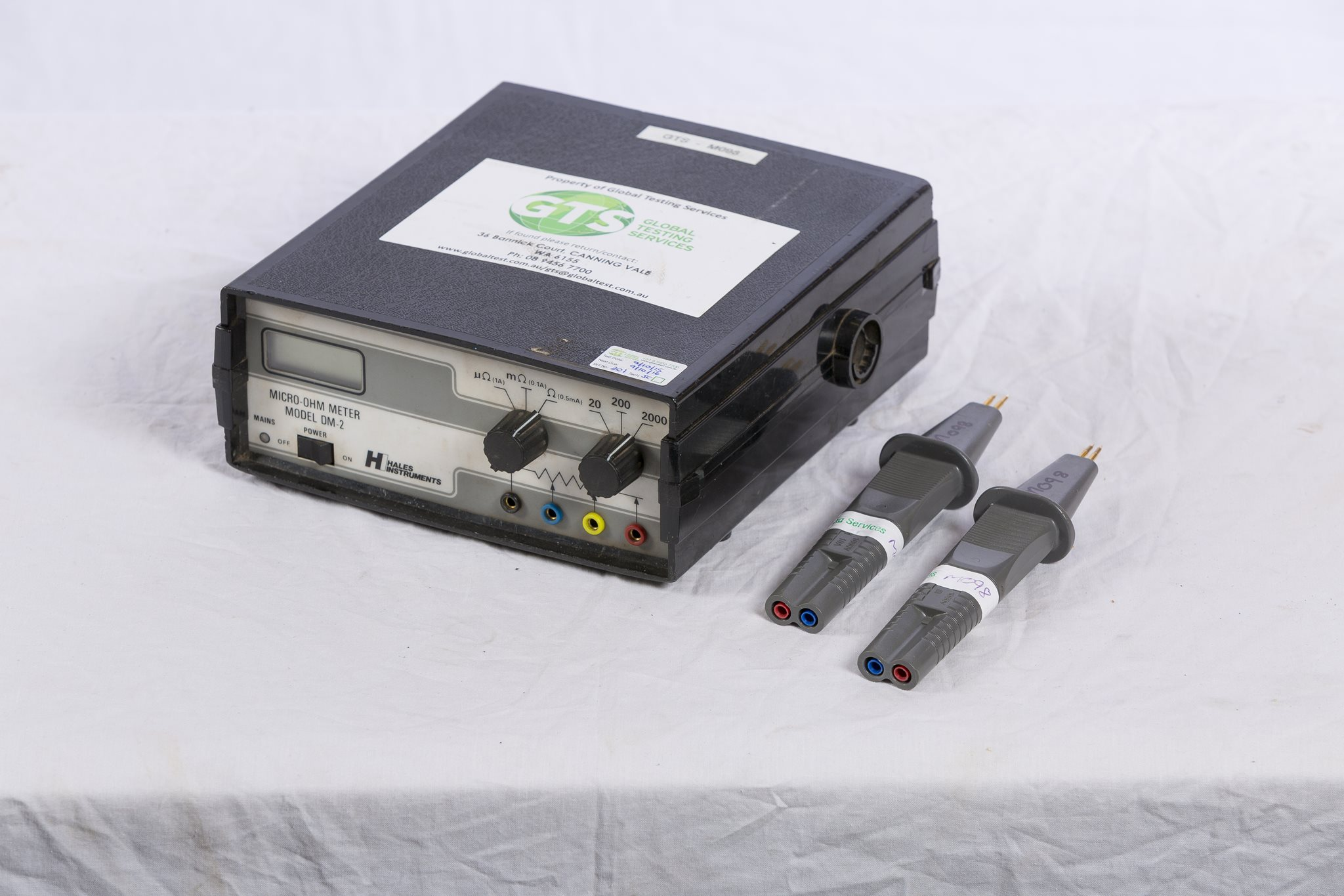 1A Low Contact Resistance Meter - Hales DM-2