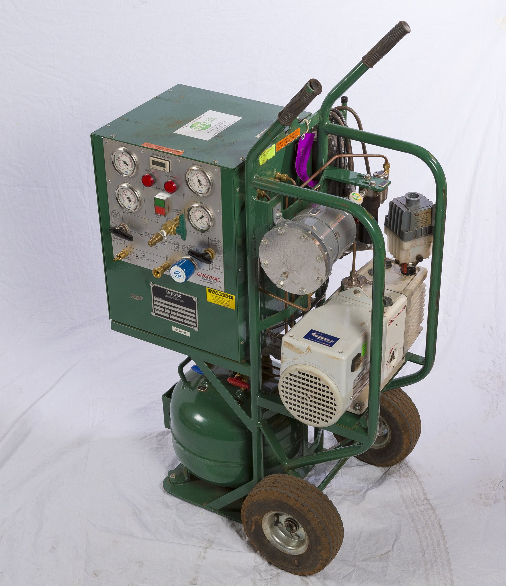 SF6 Gas Recovery Unit - Enervac Group GRU-4