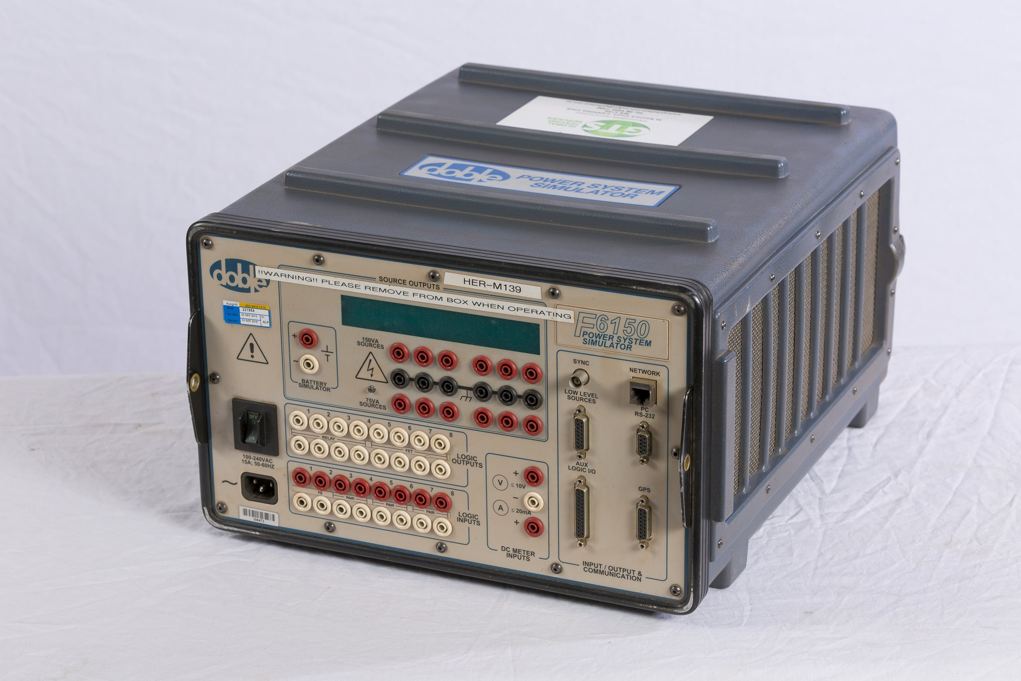 Current Injection Secondary Testing Equipment Hire Global Electrical Relay Kit Three Phase Automatic System Doble 6150a