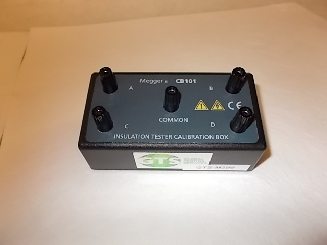Insulation Tester Calibration Box - Megger CB101