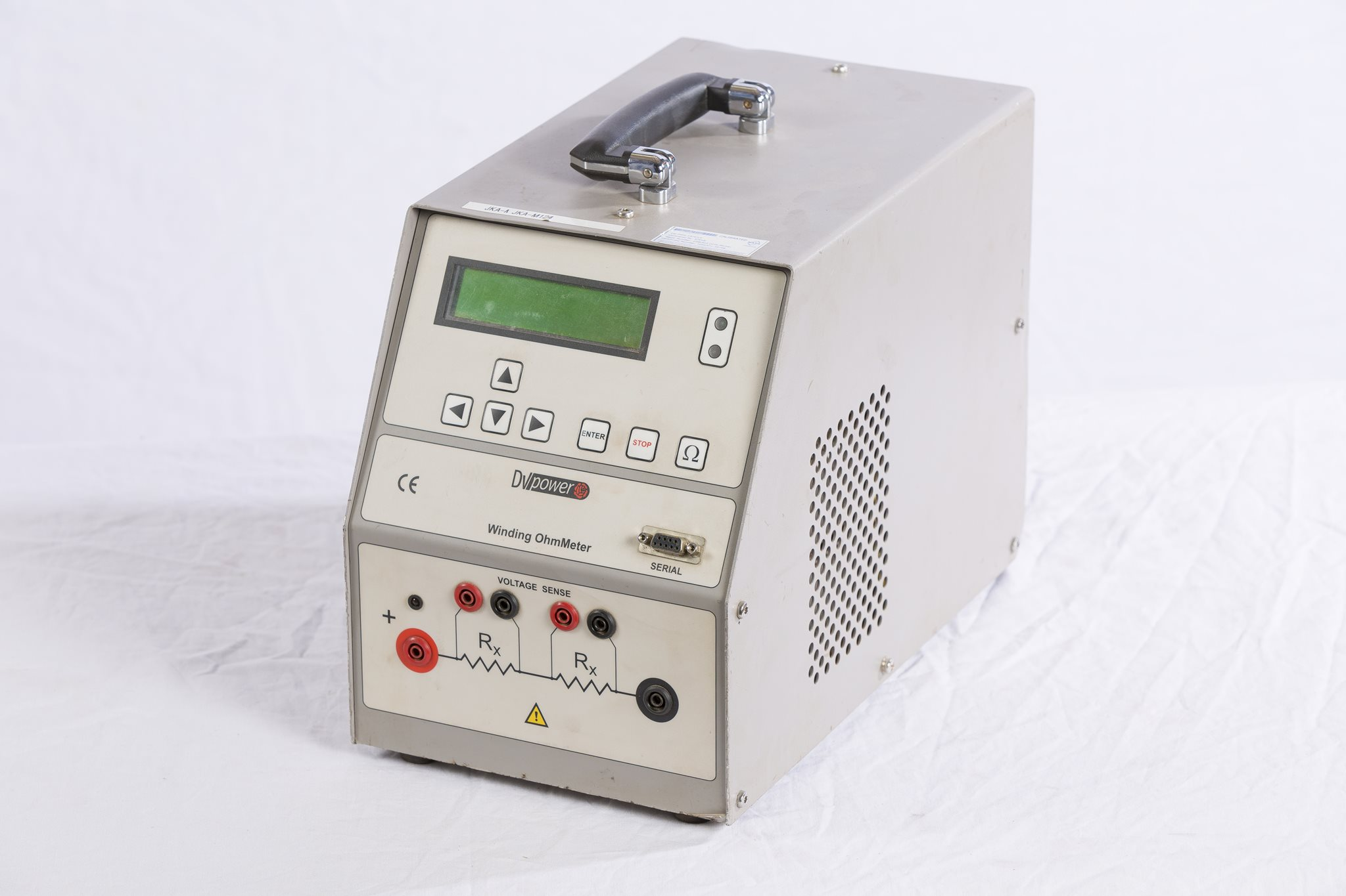 25A Winding Ohm Meter - DV Power RMO25W